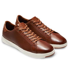 Cole Haan GrandPro Perforated Tennis Sneakers