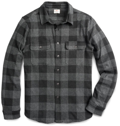 Faherty Buffalo Flannel