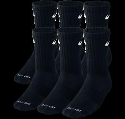Nike Dri-Fit Six Pack Socks