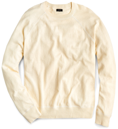 J.Crew Washed Cotton Field Sweater