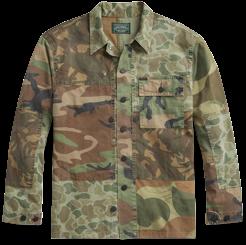 Ralph Lauren Patchwork Camo Twill Shirt