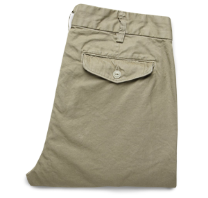 Save Khaki Twill Trousers