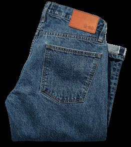 Taylor Stitch 24-Month Wash Democratic Jeans