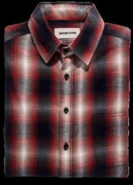 Taylor Stitch California Shadow Plaid Shirt