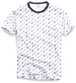 Todd Snyder x Champion All-Over Graphic Tees