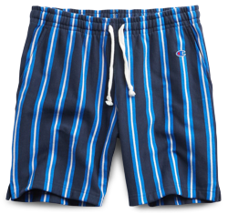 Todd Snyder x Champion Stripe Warm-Up Shorts