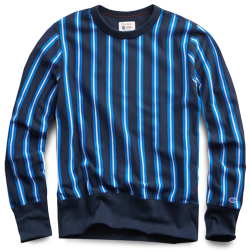 Todd Snyder x Champion Stripe Sweatshirt
