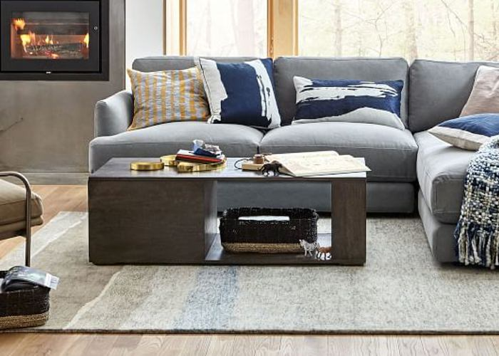 This Coffee Table Adds Style and Storage