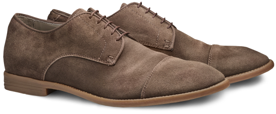 Moral Code Percy Suede Cap-Toe Shoes
