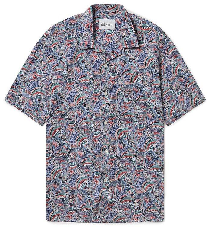 Albam Multi Thompson Print Shirt