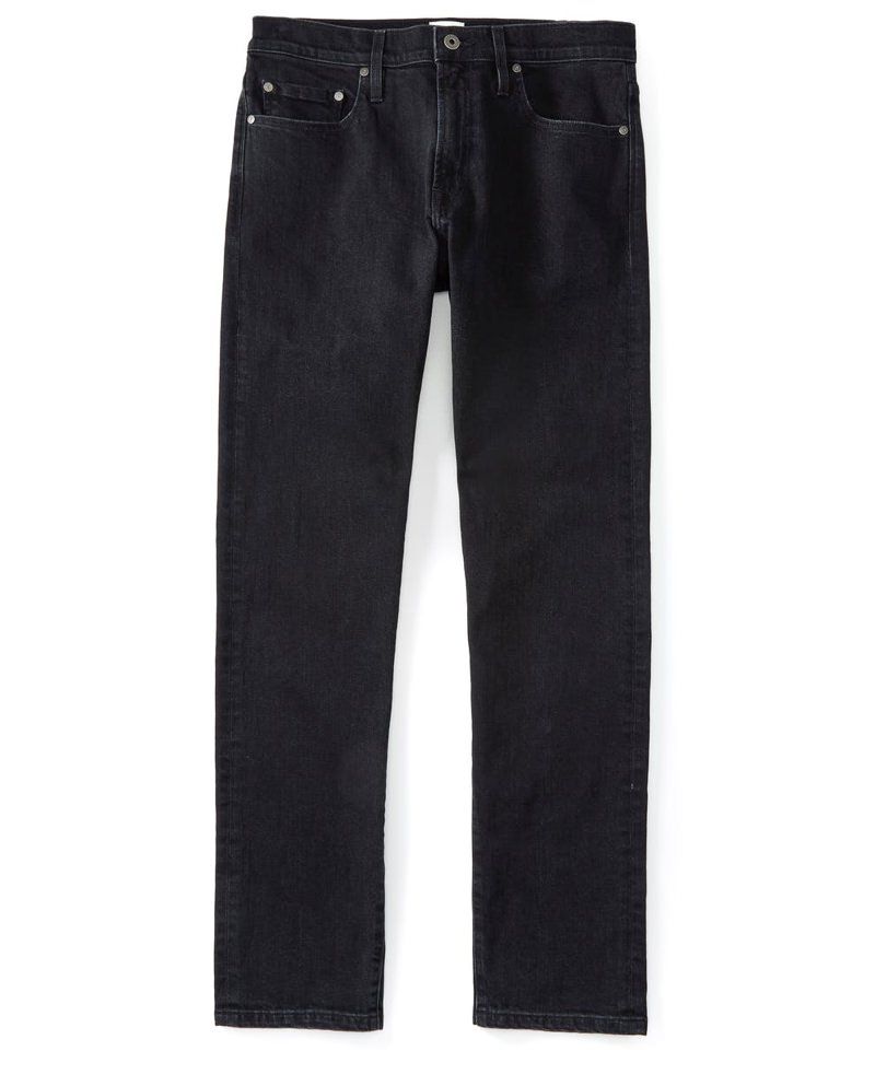 Flint and Tinder Stonewashed Black Jeans