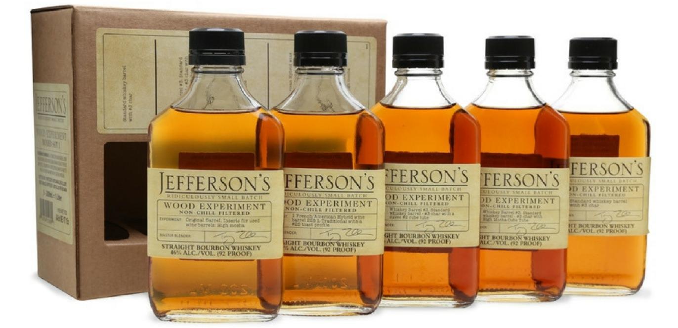Jeffersons Bourbon Experiment Collection