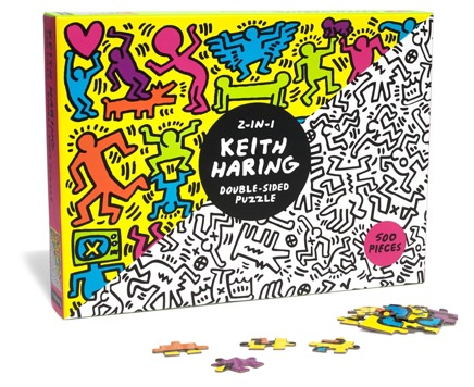 Keith Haring 500-Piece Two-Sided Puzzle