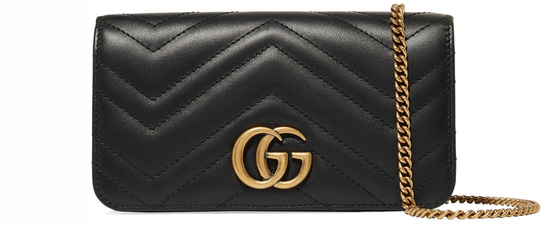 Gucci Quilted Leather Bag