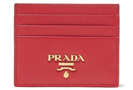 Prada Leather Cardholder