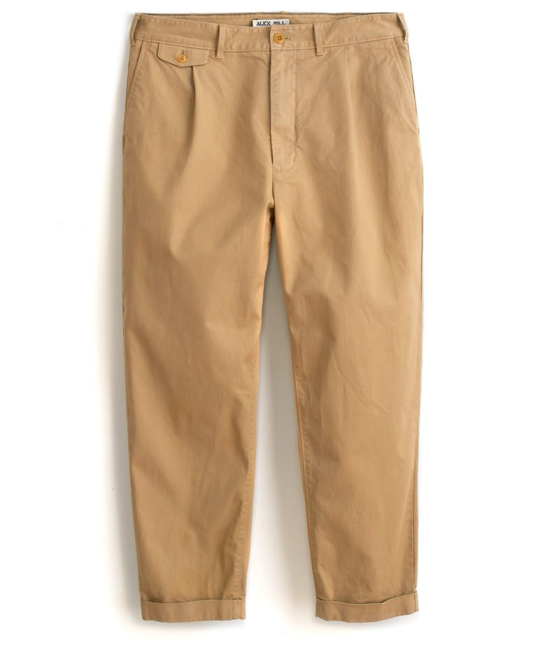 Alex Mill Standard Pleated Chinos