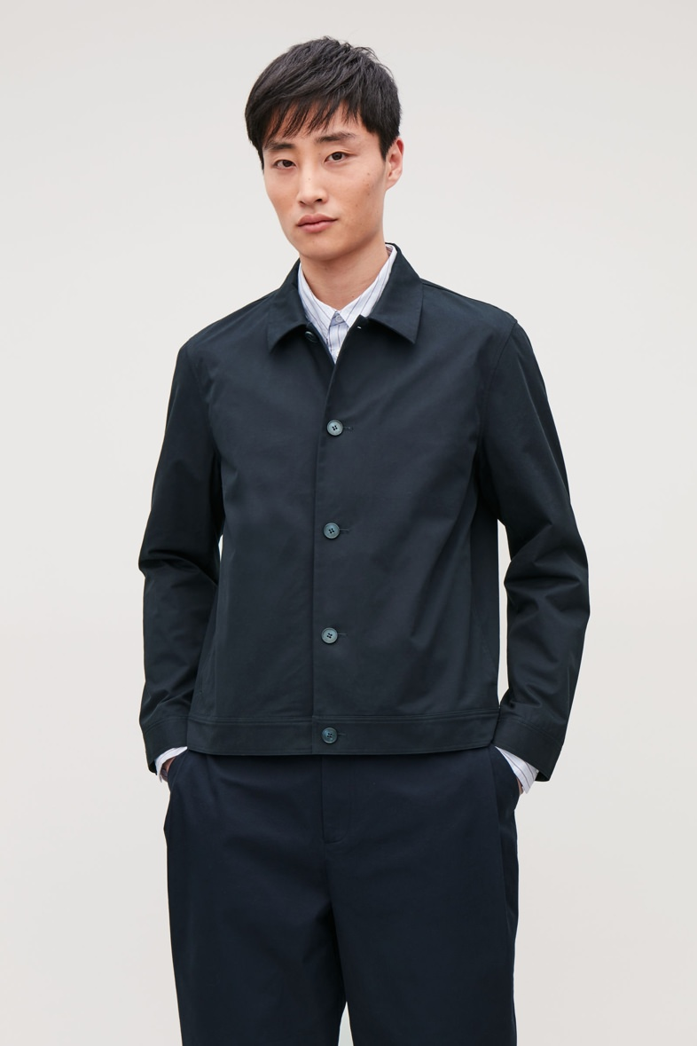 COS Button-Up Shirt Jacket