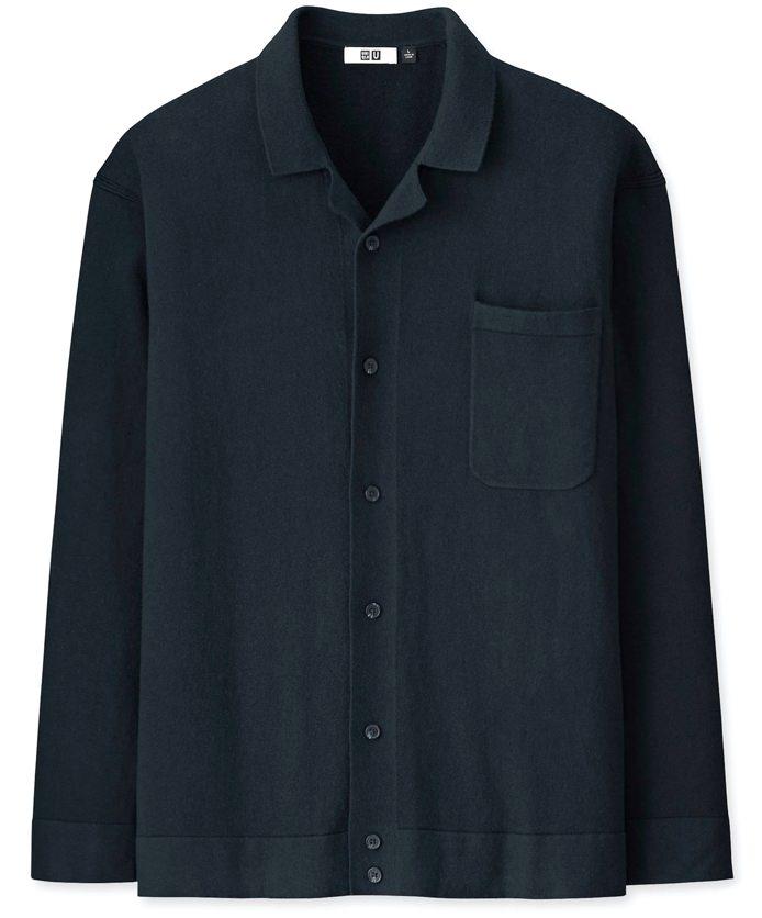 Uniqlo U Cotton Cashmere Shirt