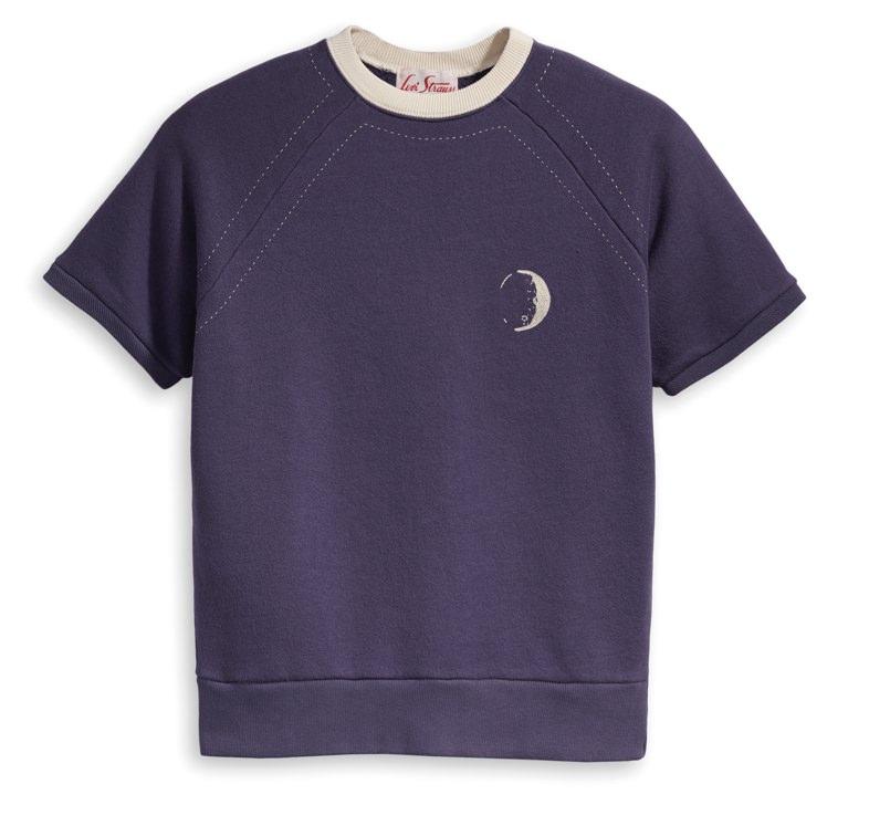 Levi's Vintage Clothing 1950s Short Sleeve Sweatshirt