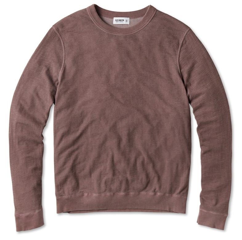 Buck Mason Double Slub Sweatshirt