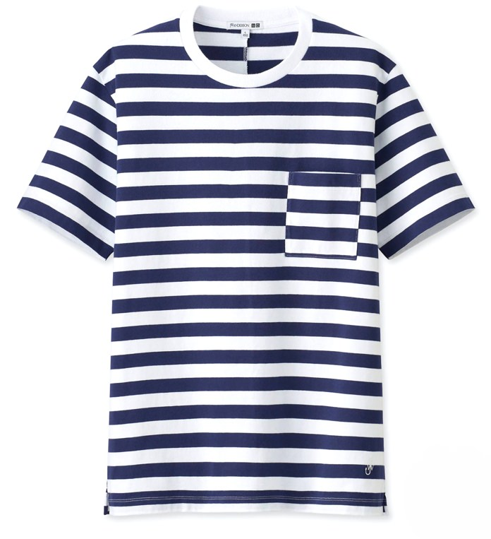 Uniqlo x JW Anderson Asymmetric Striped T-Shirt