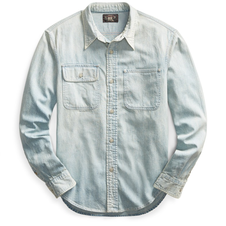 RRL 25th Anniversary Denim Shirt