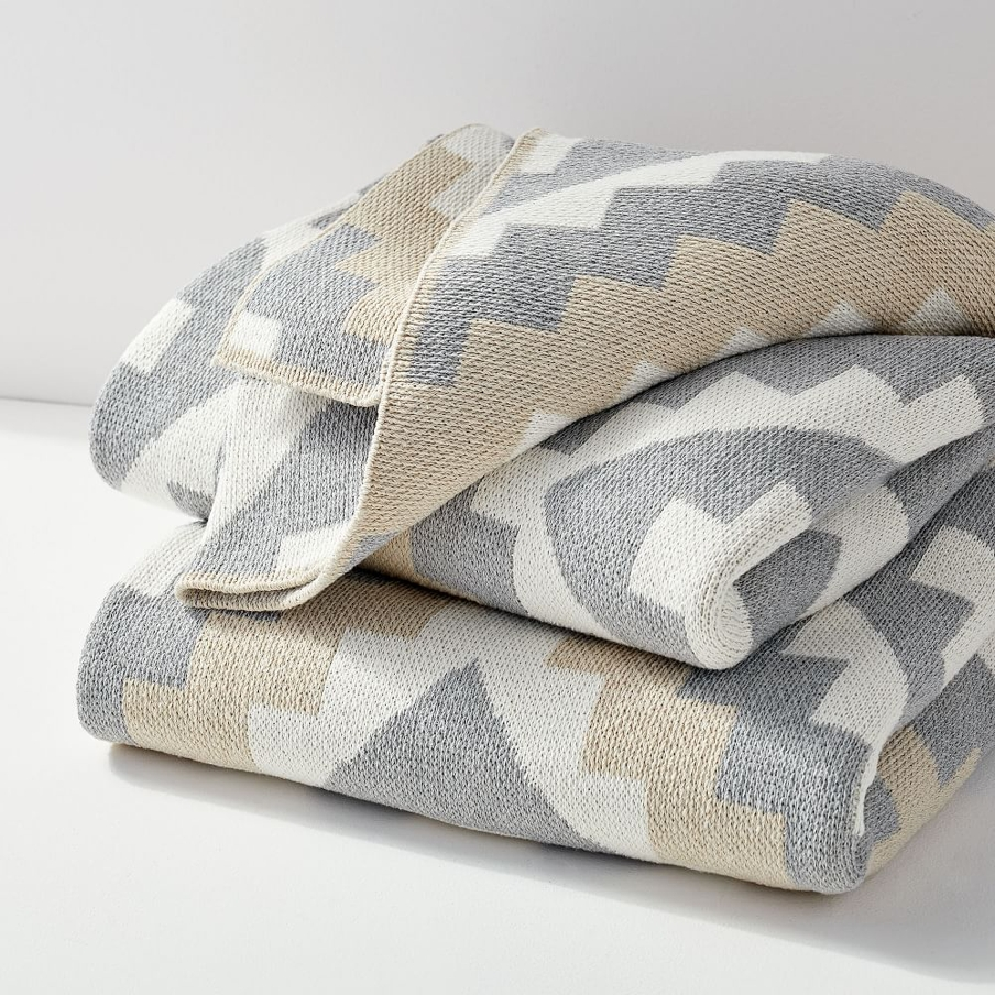 West Elm Recycled Cotton Throw