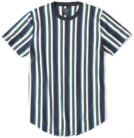 Abercrombie & Fitch Striped T-Shirt