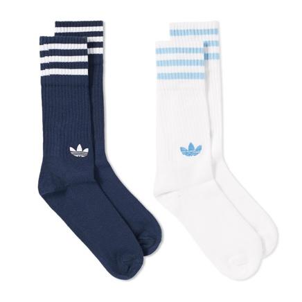 Adidas Striped Socks