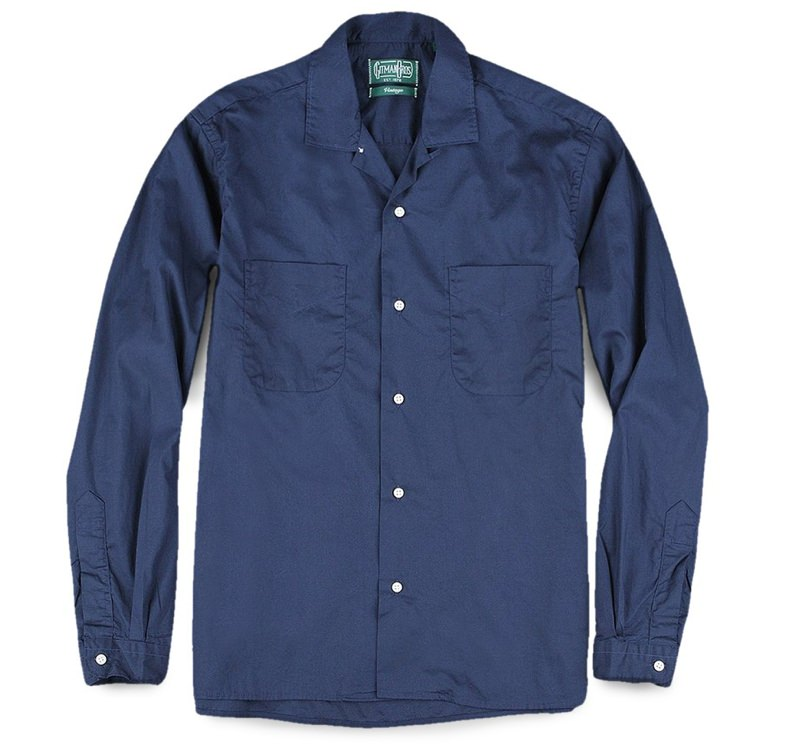 Gitman Vintage Long Sleeve Camp Collar Shirt
