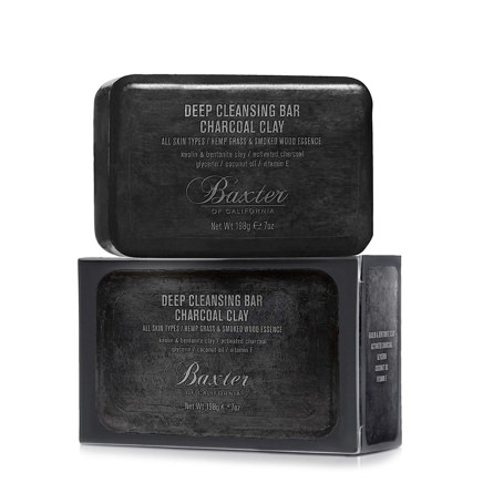 Baxter of California Deep Cleansing Charcoal Clay Soap