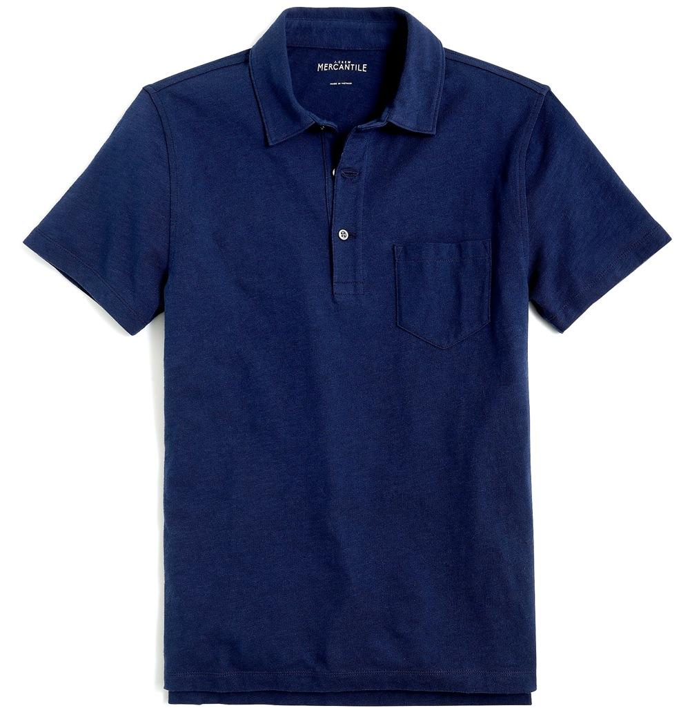 J.Crew Mercantile Slub Cotton Polo