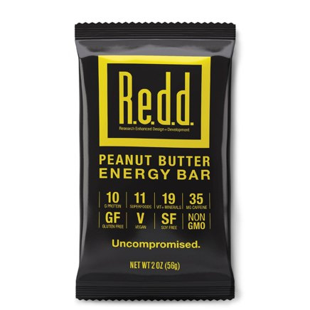 R.e.d.d. Peanut Butter Energy Bars
