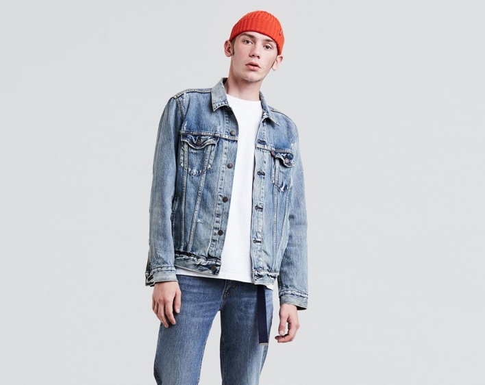 Levi's Washed Trucker Jacket
