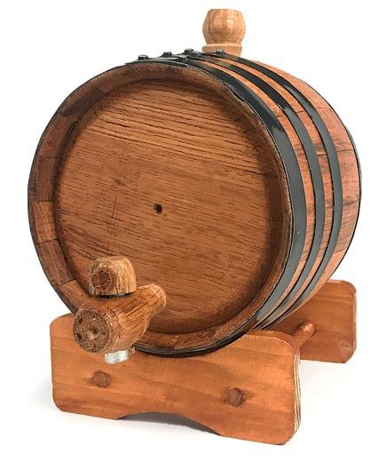 Bluegrass Barrels Two-Liter White Oak Barrel