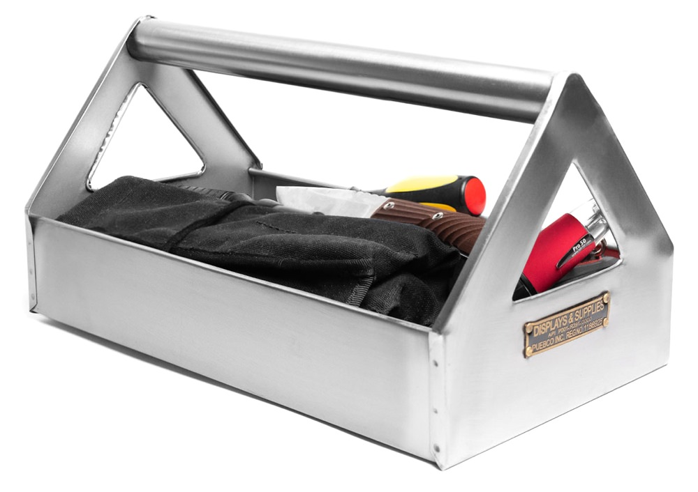 Puebco Stainless Steel Tool Organizer