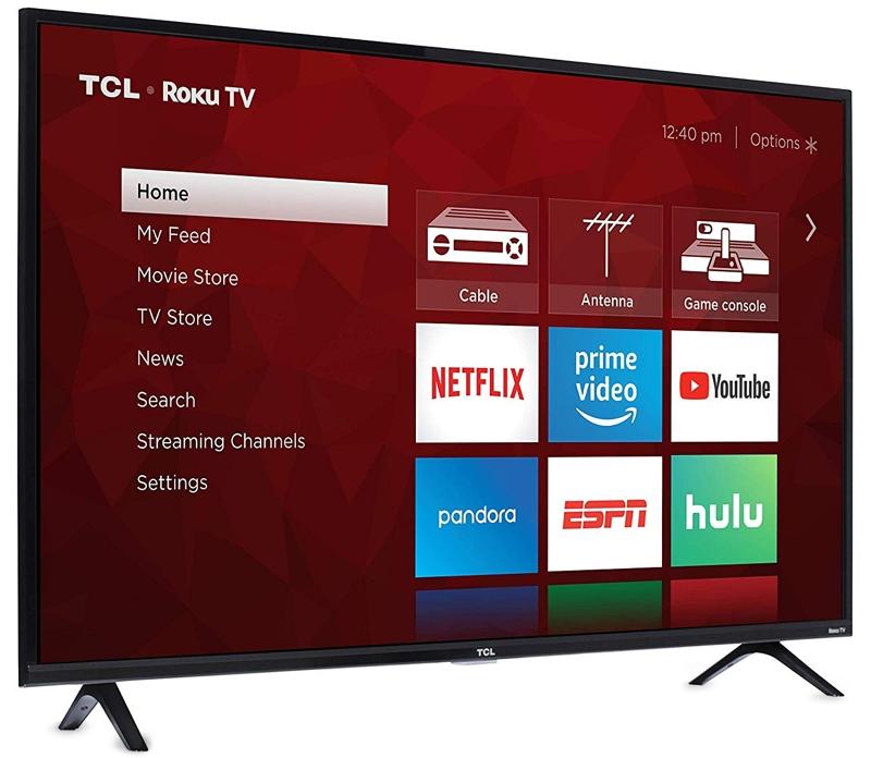 TCL 49-Inch Smart Roku TV