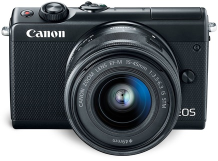 Canon Bluetooth and Wifi-Enabled Mirrorless Camera