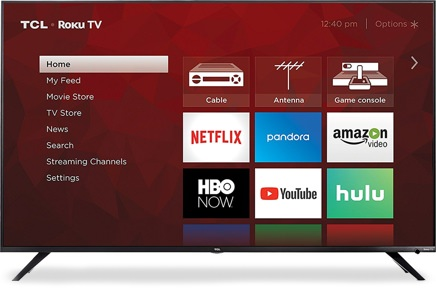 TCL 55-Inch 4K Ultra HD Television
