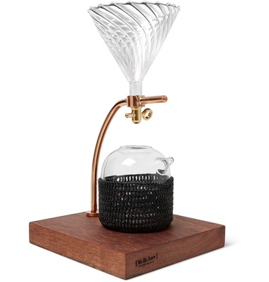 bi.du.haev Copper and Wood Pour-Over Stand