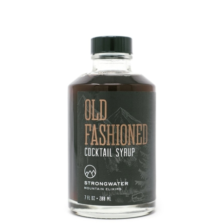 Strongwater Mountain Elixirs Old Fashioned Cocktail Syrup