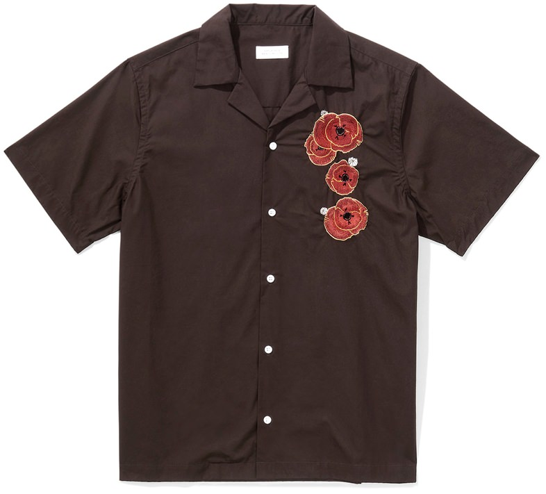 Saturdays NYC Canty Opium Camp Collar Shirt