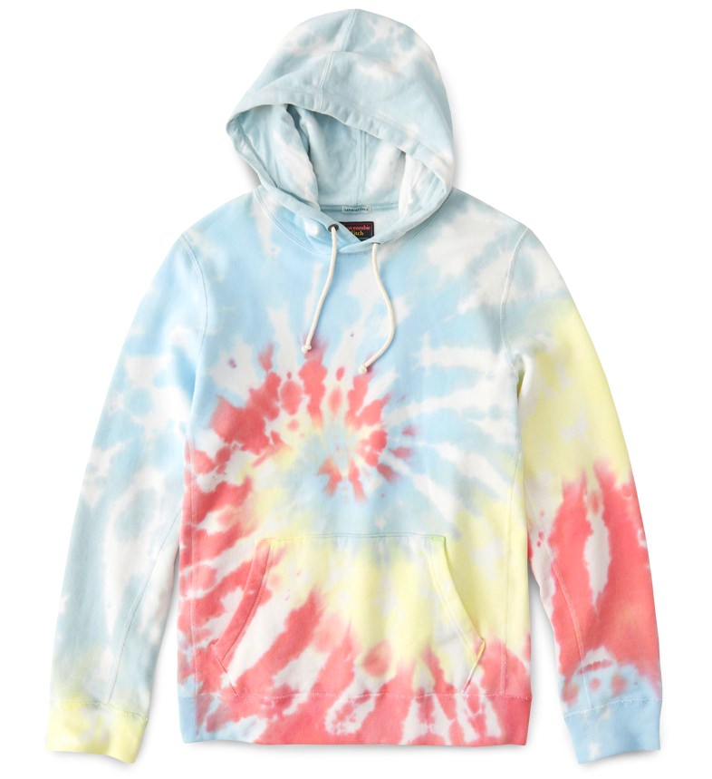 Abercrombie & Fitch Tie-Dyed Hoodie