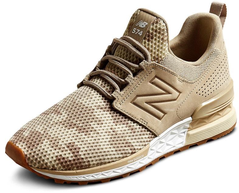 New Balance 574 Sport Decon Camo Sneakers