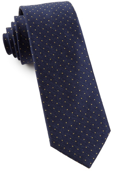The Tie Bar Silk and Linen Tie