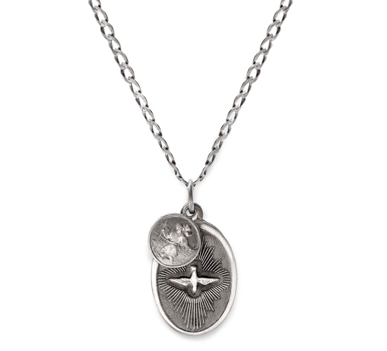 Miansai Sterling Silver Dove Necklace