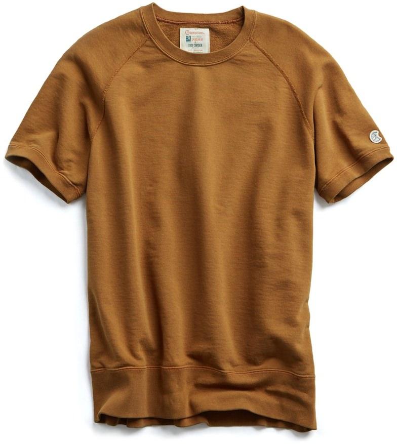 Todd Snyder Short Sleeve Sweatshirt