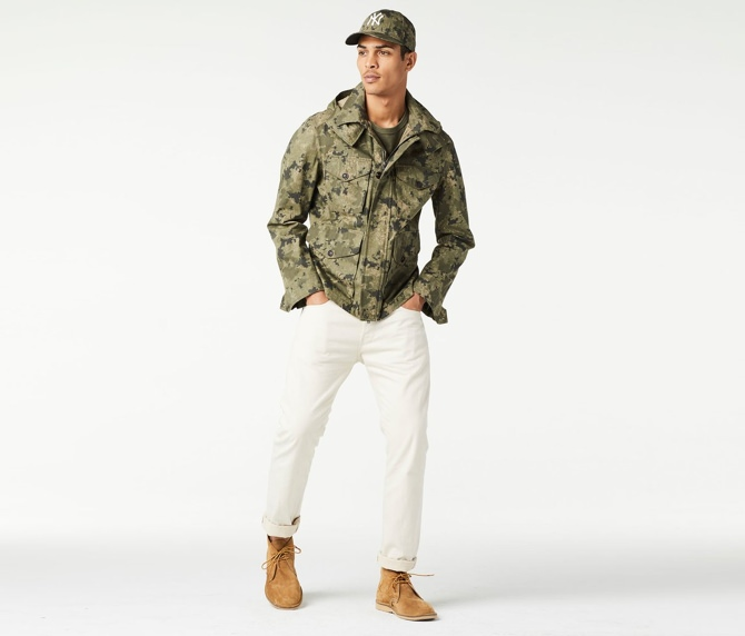 Todd Snyder Camo Desert Jacket