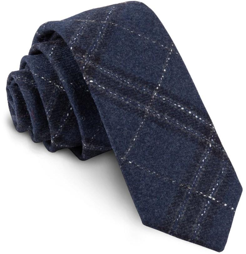 The Tie Bar Barberis Wool Tie