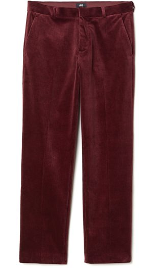 H&M Regular Fit Corduroy Pants